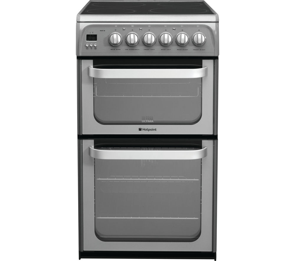 Hotpoint Ultima HUE52GS 50 cm Electric Cooker - Graphite