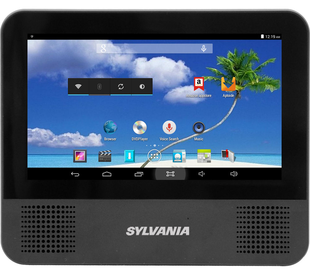 Sylvania SLTDVD7200 Portable DVD Player - Black, Black