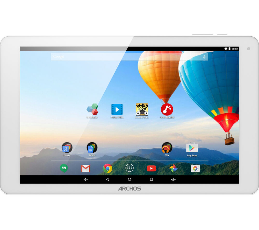 "Archos 101b Xenon 10.1"" 3G Tablet - 16 GB, Silver, White"