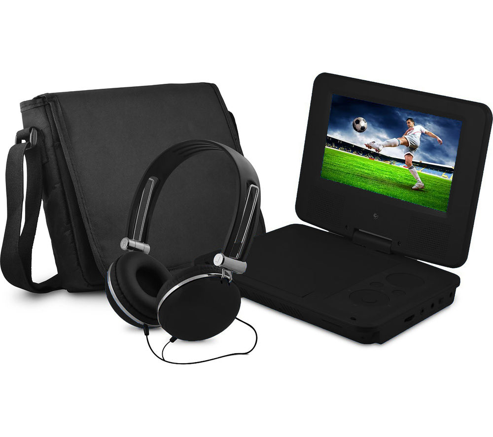 Sylvania SDVD9060 Portable DVD Player - Black