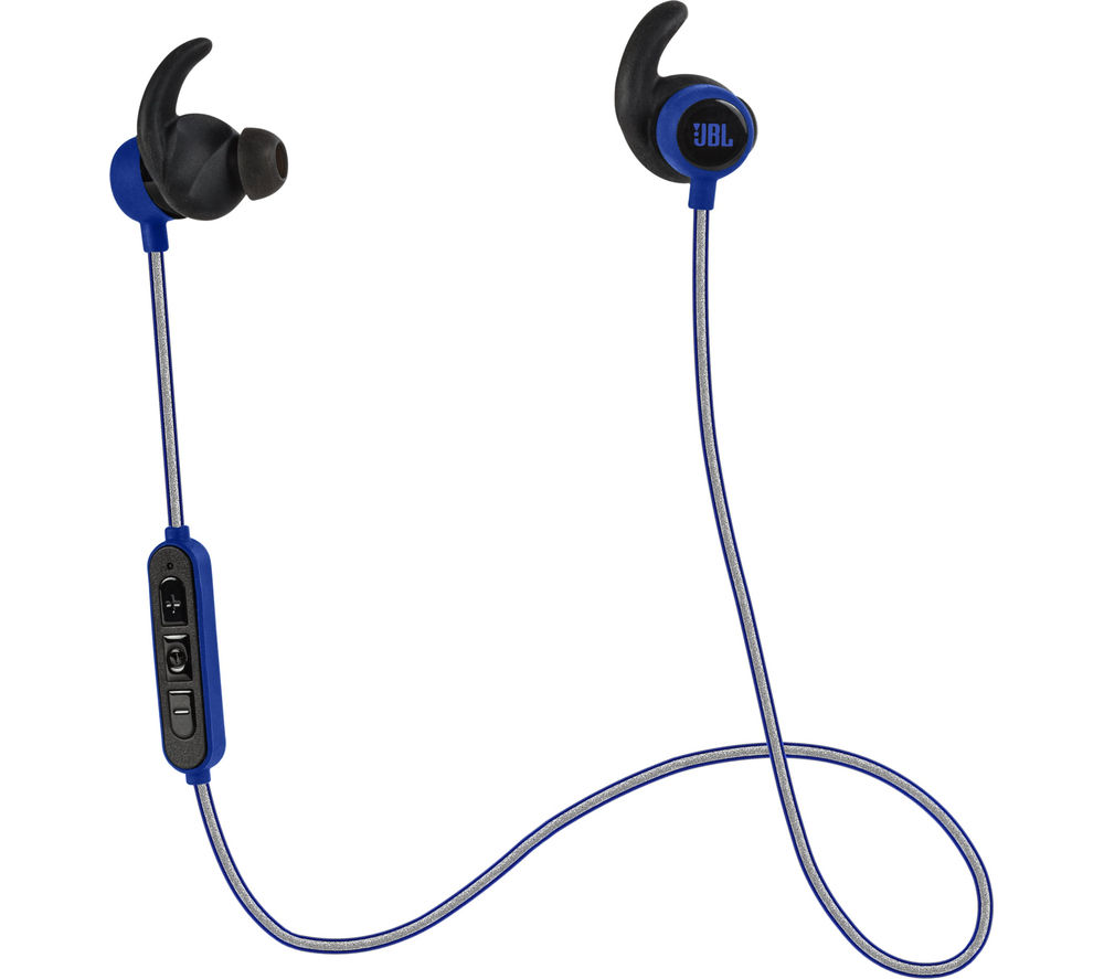 Jbl Reflect Mini BT Wireless Bluetooth Headphones - Blue