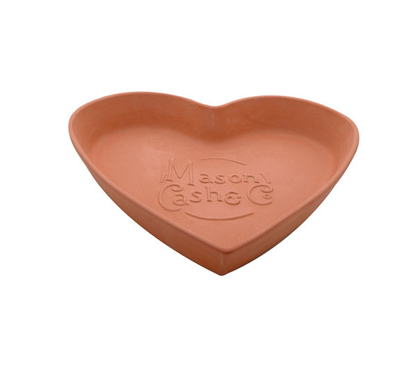 MASON CASH 28 cm Tear & Share Heart Bread Form - Terracotta
