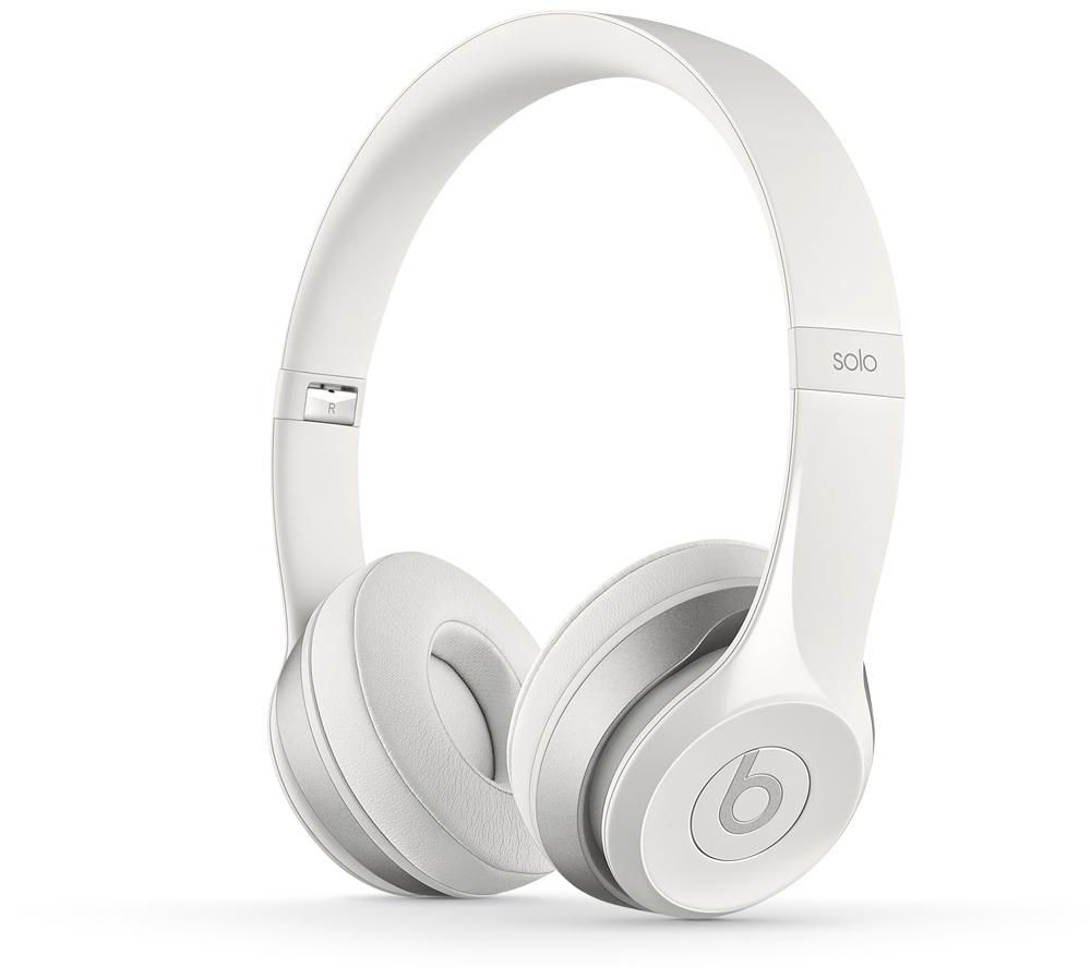 Beats By Dr Dre Solo 2 Headphones - White, White