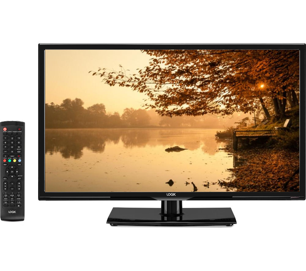"24"" Logik L24HED16 LED TV with Built-in DVD Player"