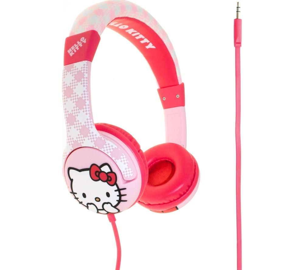 Hello Kitty HELLO KITTY Kids Headphones - Pink, Pink