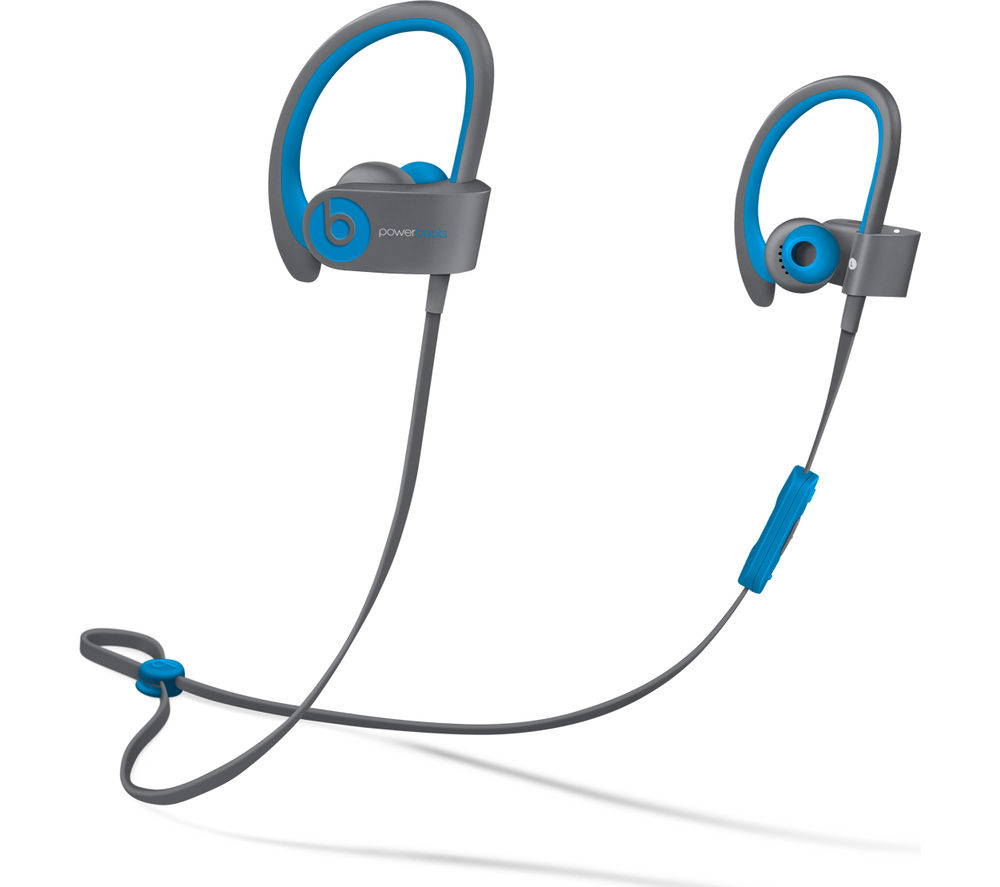 Beats By Dr Dre Powerbeats² Wireless Bluetooth Headphones - Active Collection, Blue, Pink