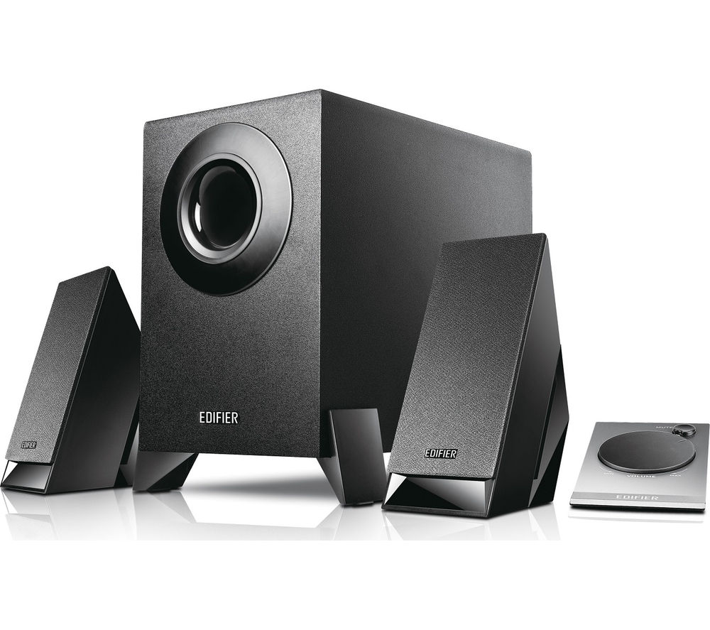 Edifier M1360 2.1 PC Speakers, Black