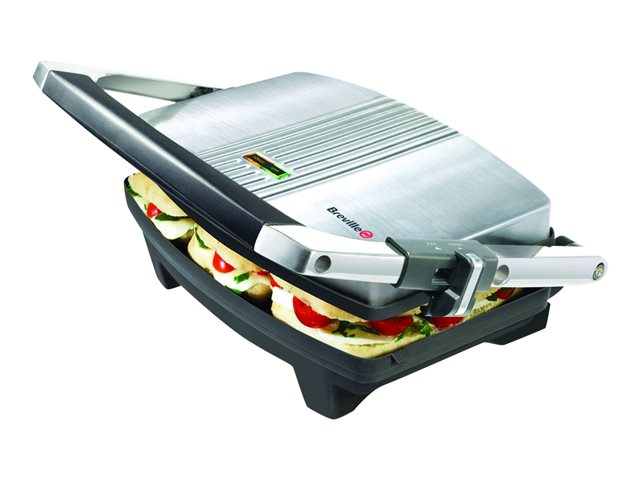 Breville Cafe Series VST025 - sandwich maker - stainless steel