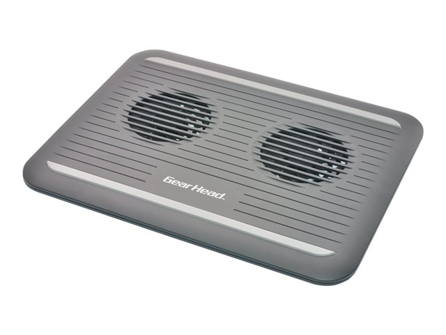 Gear Head Dual-Cool Notebook Cooling Pad CF3300BLK - notebook fan