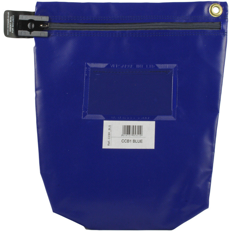 VERSAPACK HIGH SECURITY POUCH BLUE CCB1