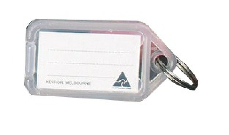 Kevron Clicktag Plastic Clear 100 Pack