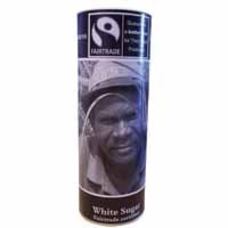 Fairtrade White Sugar - 800g Cannister
