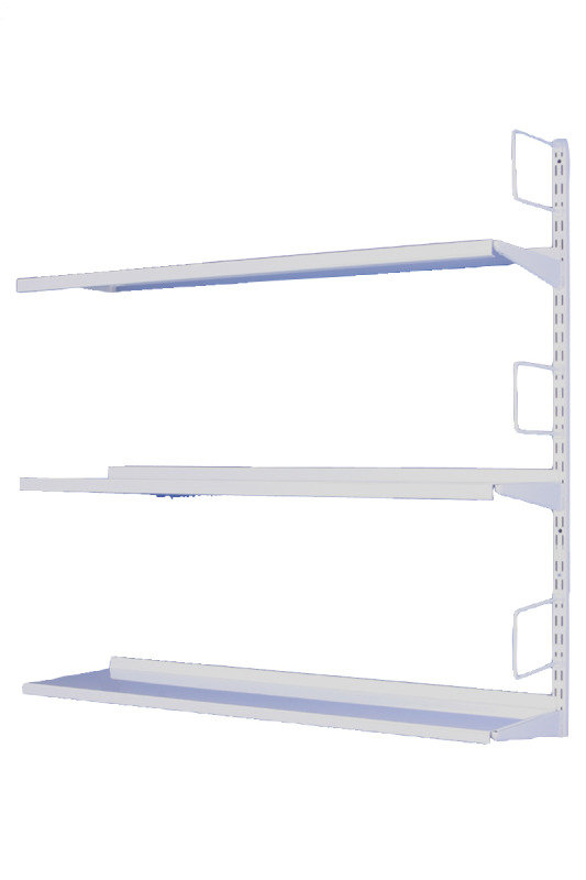 Storage Solutions 3-Tier Wall Mounted Shelving Extension (Pack of 1)