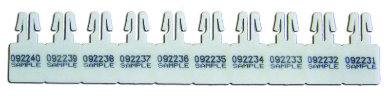 VERSPAK NUMBERED ARROW SEAL WHT 4XPK250