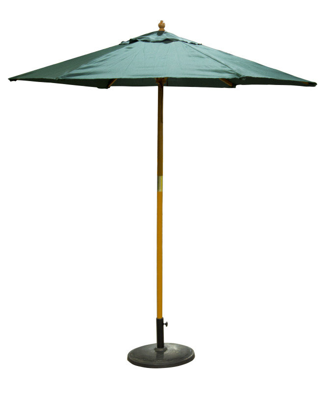 Birch Garden Parasol Green