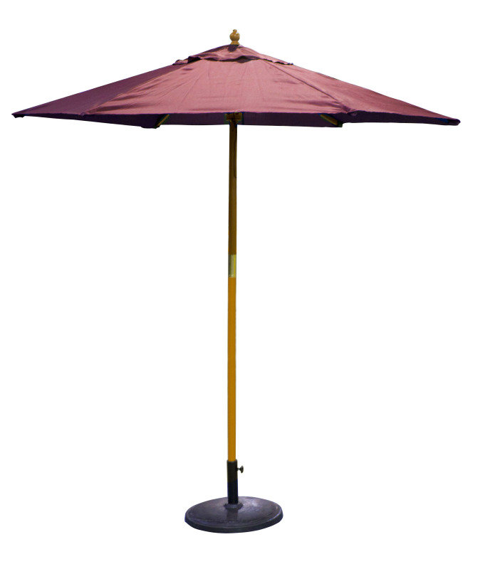 Birch Garden Parasol Red