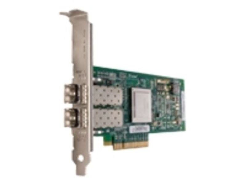 QLogic QLE2562 Host bus adapter PCI Express 2.0 x8 low profile 8Gb Fibre Channel 2 ports
