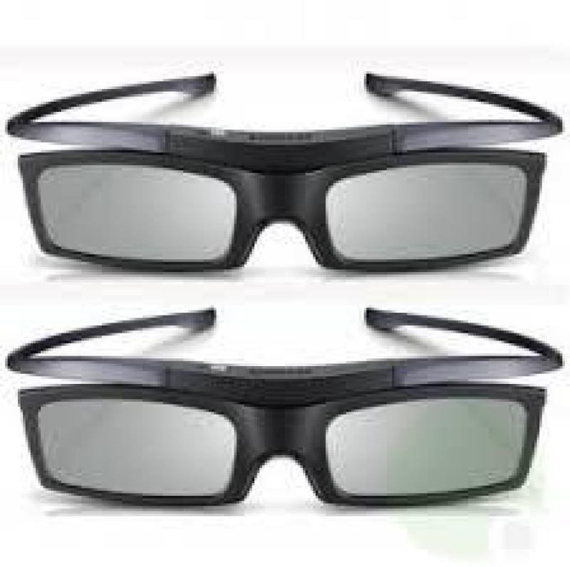 3D Glasses Promo 2 pack battery operated