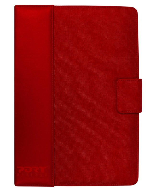 "Port Designs Phoenix IV Tablet Folio - Universal - For tablets up to 7"" Red"