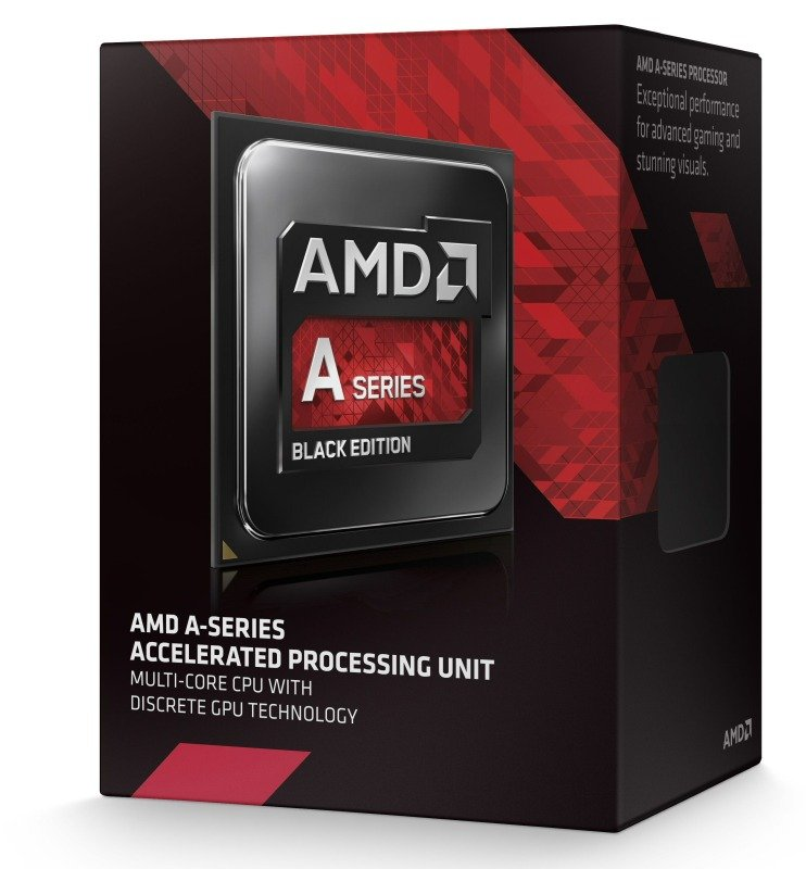 AMD A10 7850K Black Edition 3.7GHz Socket FM2+ APU 4MB Cache Retail Boxed Processor