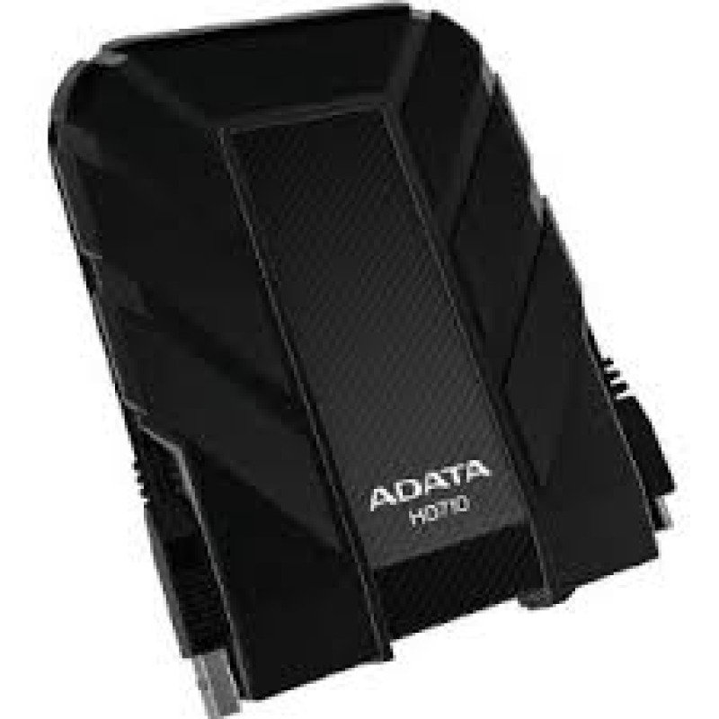 A-Data AHD710-1TU3-CBK 2.5 inch 1TB DashDrive Durable Series USB 3.0 External Portable Drive
