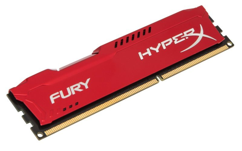 4GB 1866MHz DDR3 CL10 DIMM HyperX Fury Red Series
