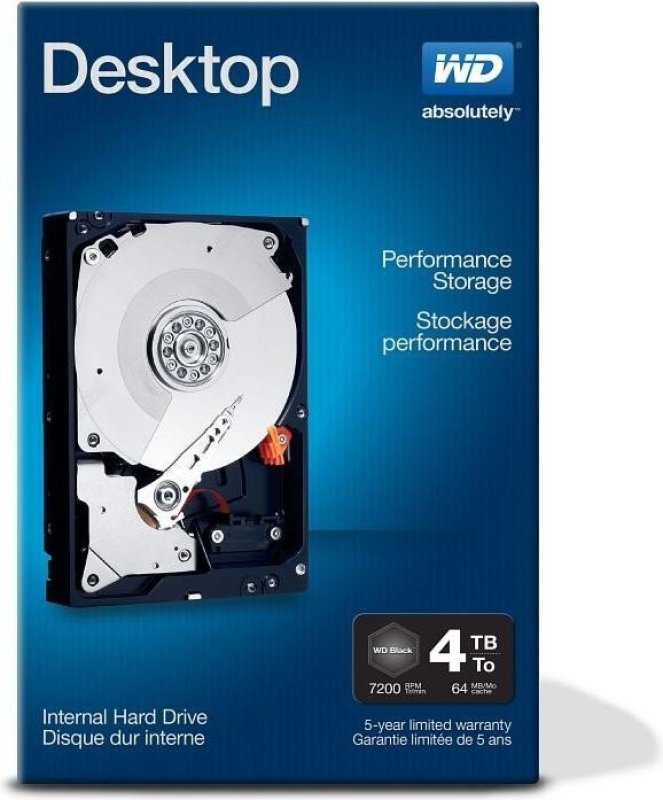 HDD Desktop Performance 4TB SATA 6GBs