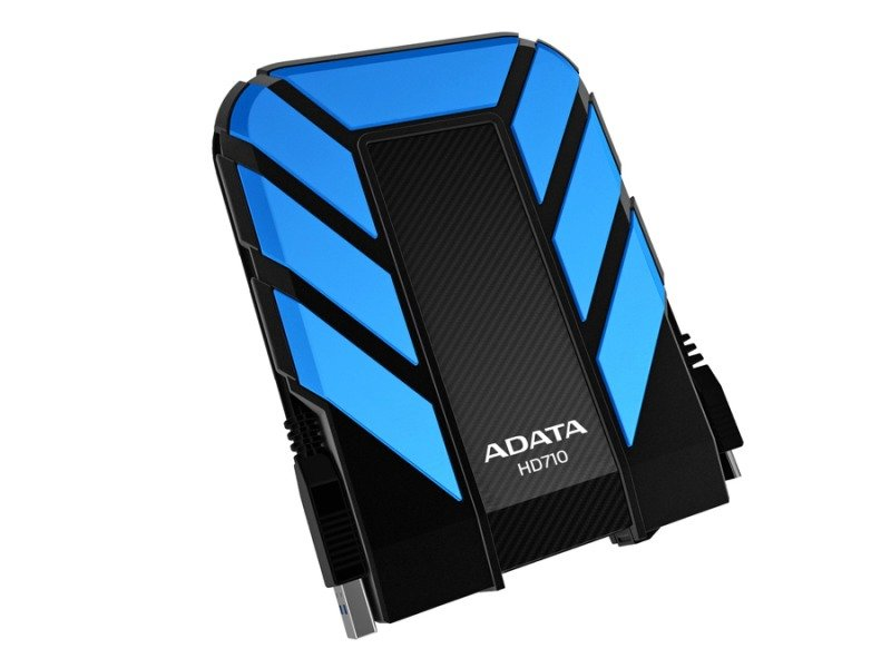 ADATA DashDrive Durable HD710 (1TB) USB 3.0 External Waterproof Hard Drive (Blue)