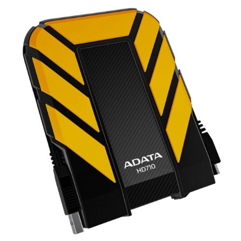 Adata 1TB DashDrive Durable HD710 Portable Hard Drive (Yellow)