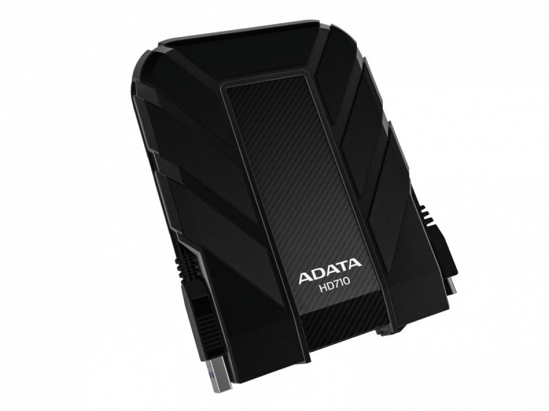 ADATA DashDrive Durable HD710 (2TB) USB 3.0 External Waterproof Hard Drive (Black)