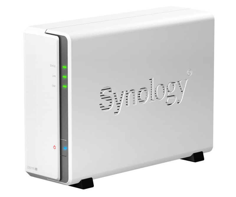 Synology DiskStation DS115j 1-bay (no disk) NAS Enclosure