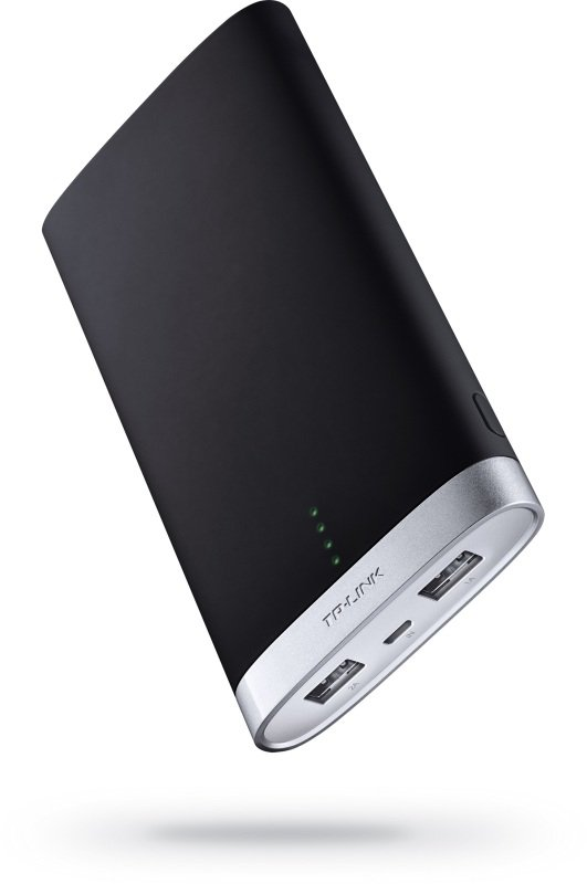 TP-Link 10000mAh Power Bank, 2 USB ports