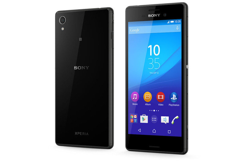"1293-7168 Sony M4 Aqua Smartphone - Black - 5"" IPS Display - Qualcomm Snapdragon 615 Octa (1.5 GHz) - 13MP Main + 5MP Front Camera - 8GB Storage + expandable microSD (128GB) - Android 5.0 (Lollipop)"