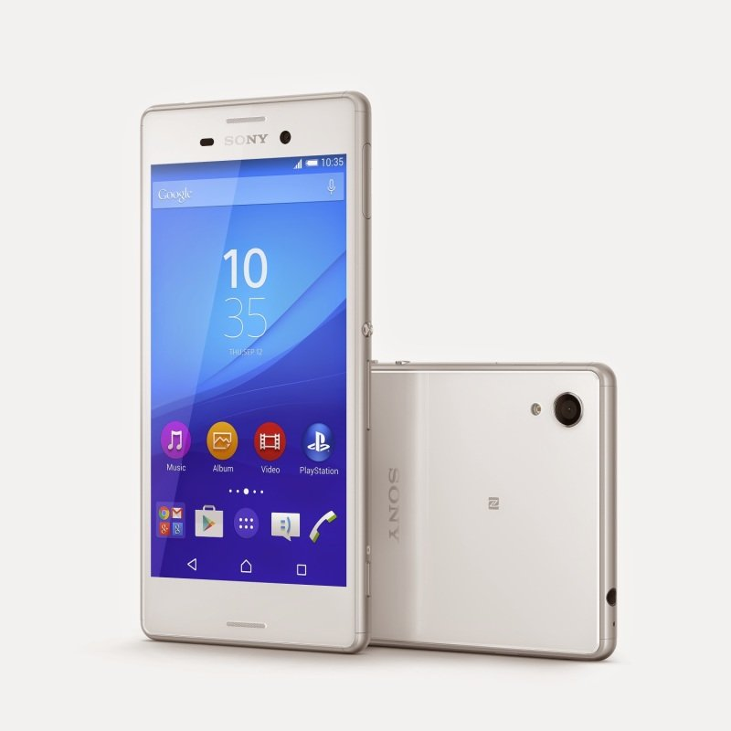 "1293-7169 Sony M4 Aqua Smartphone - White - 5"" IPS Display - Qualcomm Snapdragon 615 Octa (1.5 GHz) - 13MP Main + 5MP Front Camera - 8GB Storage. MicroSD expansion 128GB - Android 5.0 (Lollipop)"