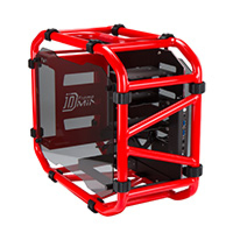 In Win D-Frame Mini Red mITX LAN Gaming case