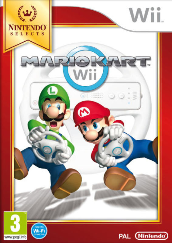 Nintendo Mario Kart Select Game