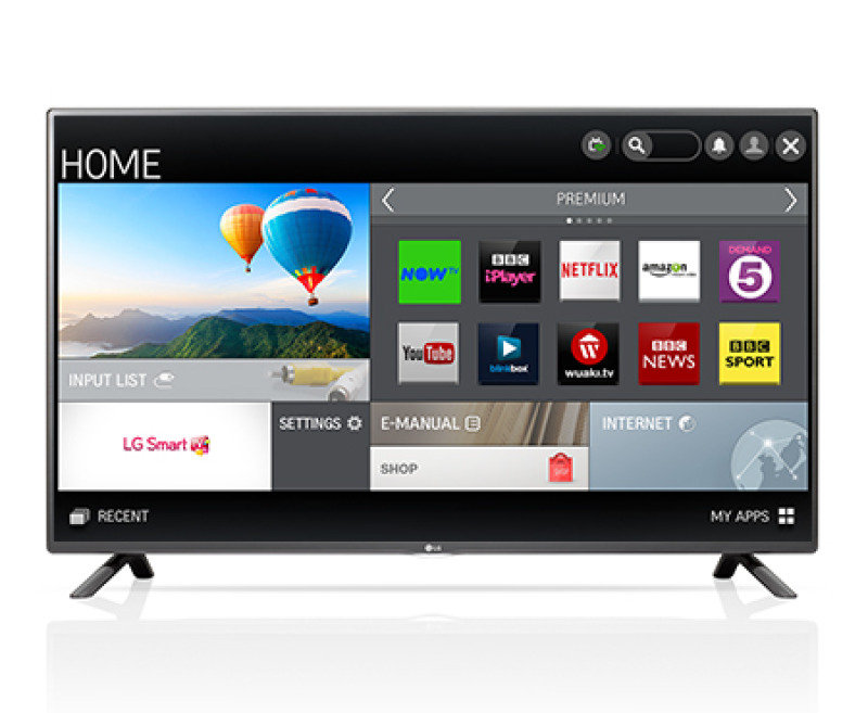 Lg 55 Inch Led Netcast Smart Full Hd Tv Wifi 2.0ch 20w