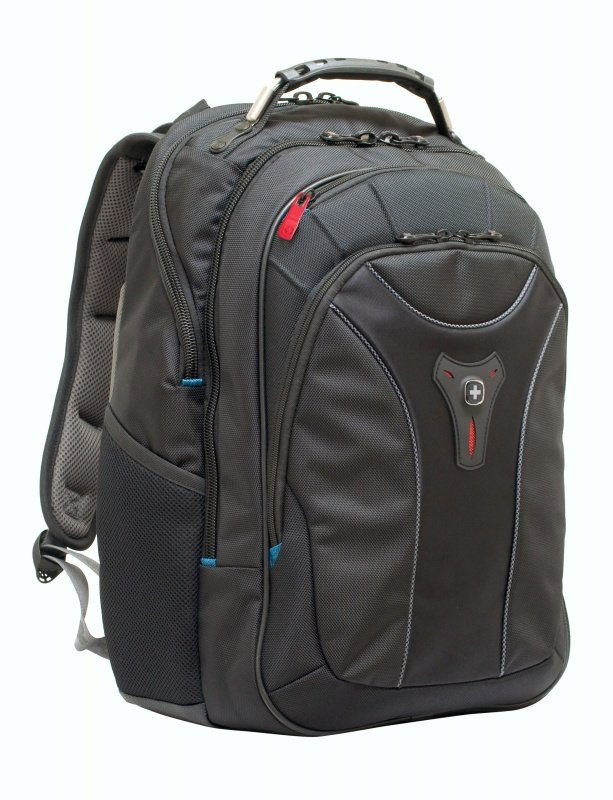 "Wenger Carbon Backpack, For MacBooks up to 17"" - Black"