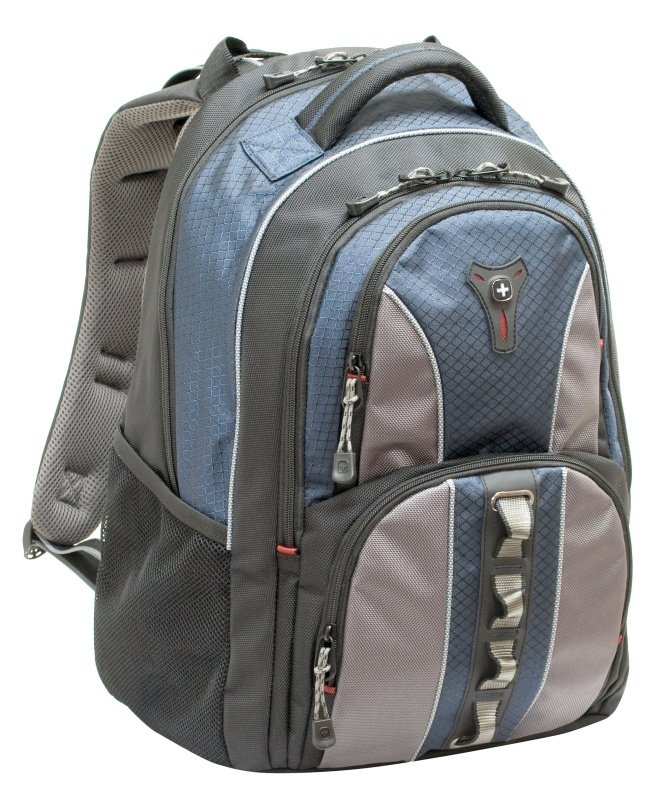 "Wenger Cobalt BackPack - For Laptops up to 15.4"" - Grey"