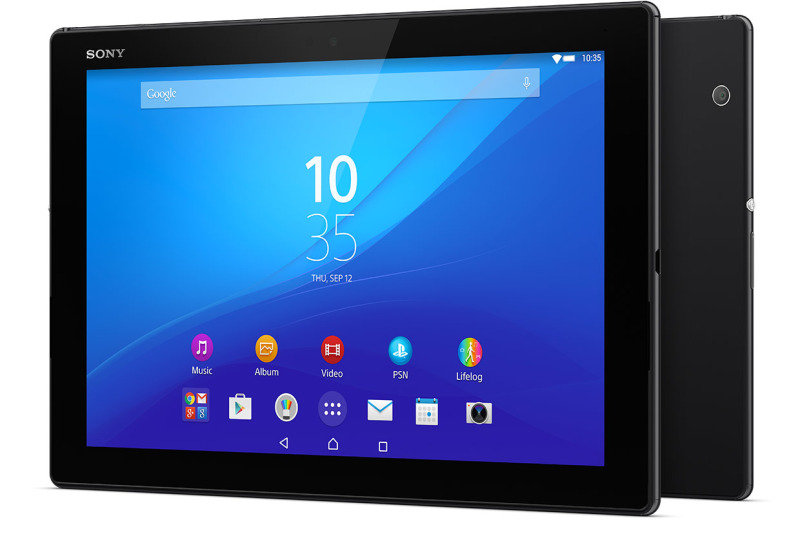 "1295-7383 Sony Z4 Tablet Snapdragon 810 Adreno 430 2GHz LTE 3GB RAM 32GB 10.1""dis 8.1 MP Rear and 5.1MP front camera andriod 5.0 Blk w Keyboard"