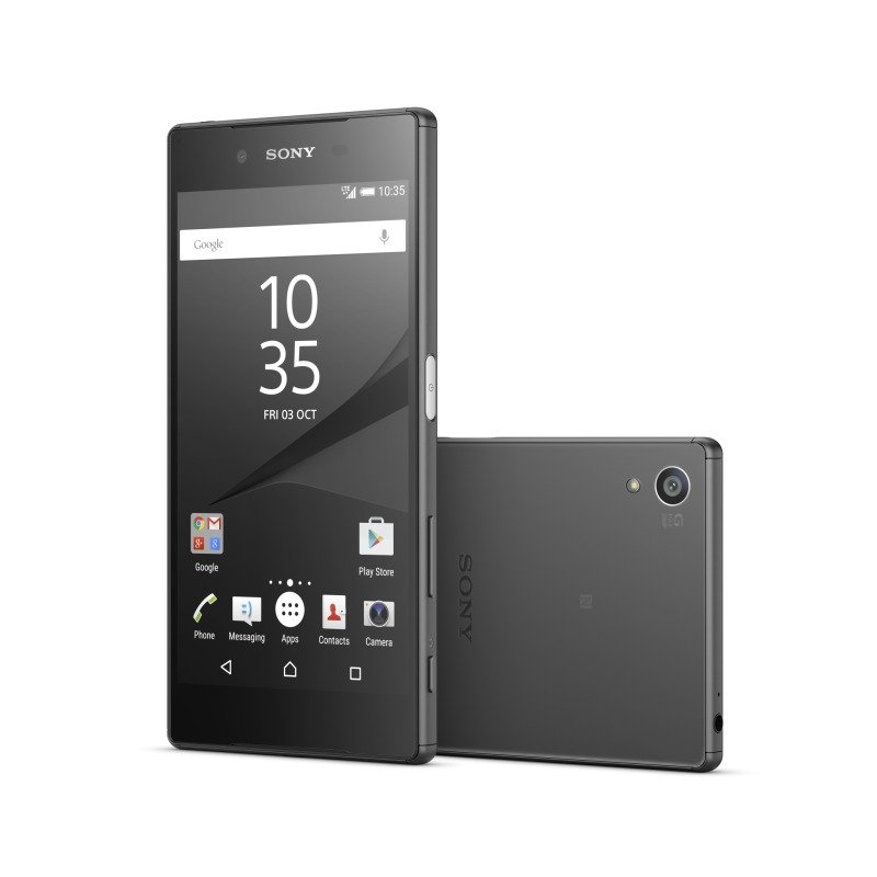 1298-4478 Sony Xperia Z5 5.2inch FHD 1080p Snapdragon 810 (MSM8994) Display 23MP Rear and 5MP Front Camera 3GB RAM 32GB Flash Android 5.1 Lollipop Phone Black