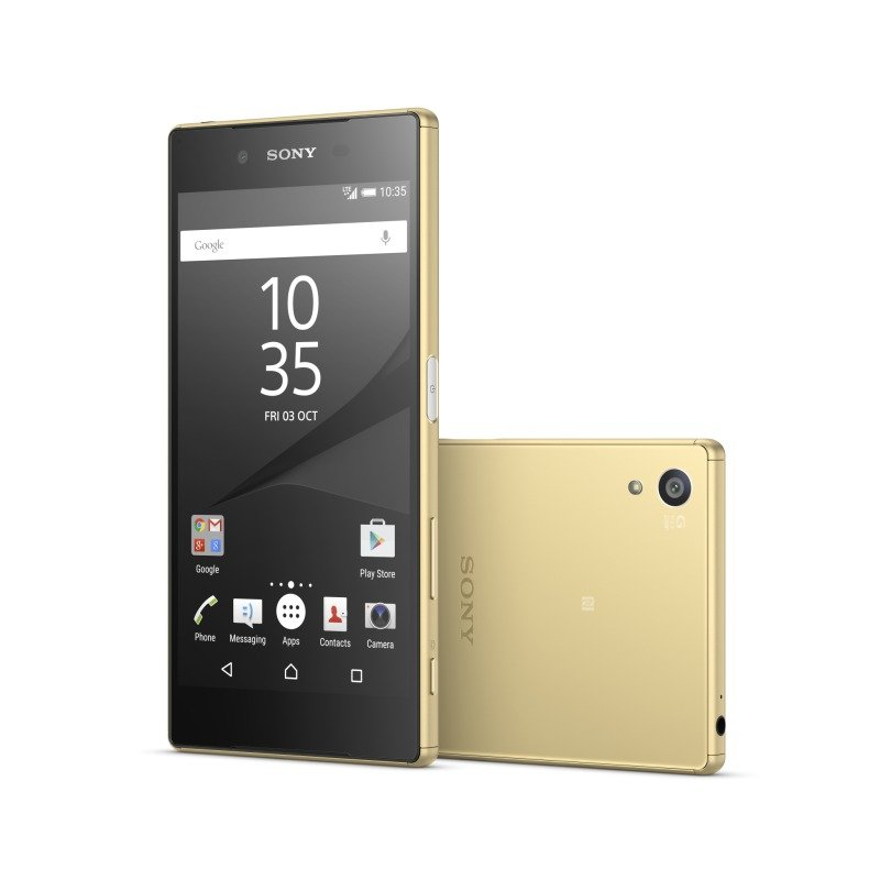 1299-3486 Sony Xperia Z5 5.2inch FHD 1080p Snapdragon 810 (MSM8994) Display 23MP Rear and 5MP Front Camera 3GB RAM 32GB Flash Android 5.1 Lollipop Phone Gold