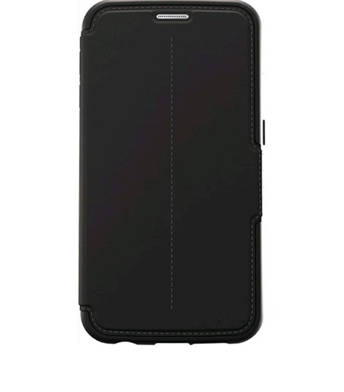 Case/Strada f Galaxy S6 Black Leather