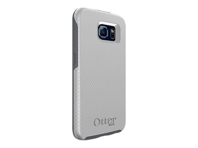 Case/Symmetry f Galaxy S6 White/Carbon