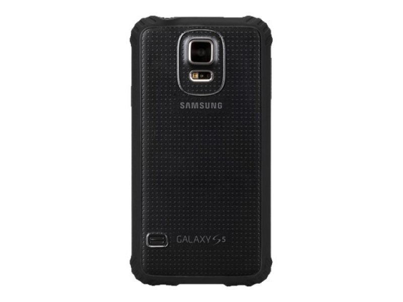 Griffin SurvivorClear Cse for Samsung Galaxy S5 in Black/Clear - GB39905-2 polycarbonate and TPE, IMPACT PROTECTION