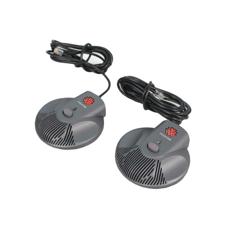 Polycom SoundStation2 EX Additional Microphones (pack of 2)