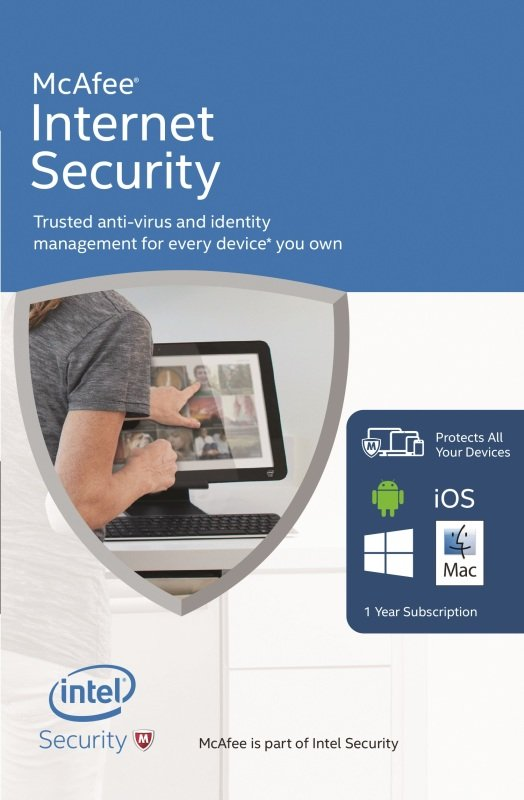 Mcafee Internet Security 2016 - Electronic Software Download