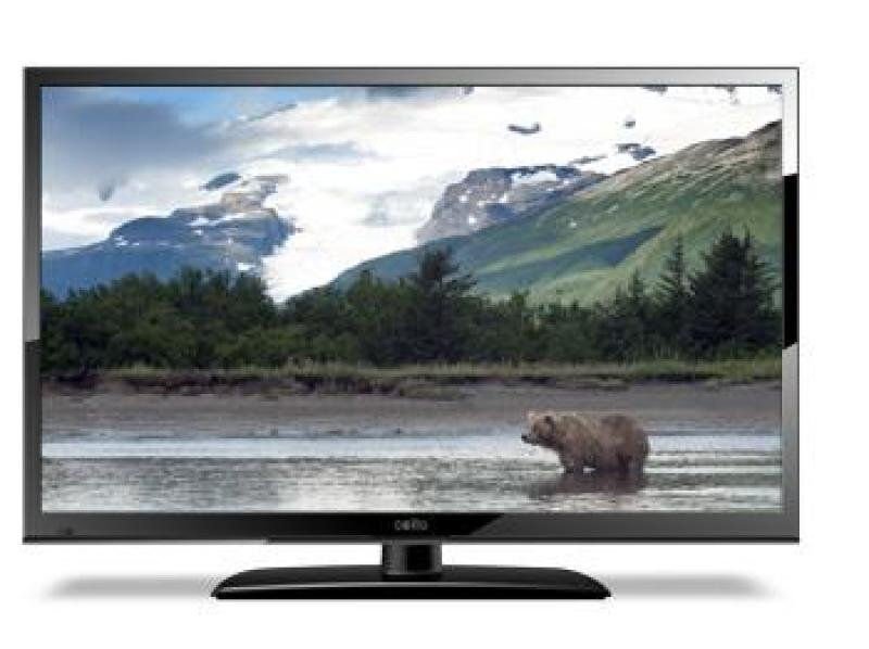 "24"" Black Hd Ready Led Tv With Freeview 1366 X 768 1x Hdmi And 1x U"