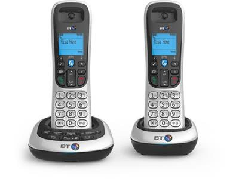 Bt 2600 Twin Dect Phone With Tam