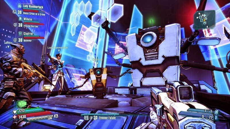 Borderlands The Pre-sequel: Ultimate Vault Hunter Upgrade Pack: The Holodome Onslaught (dlc) - Age Rating:18 (pc Game)